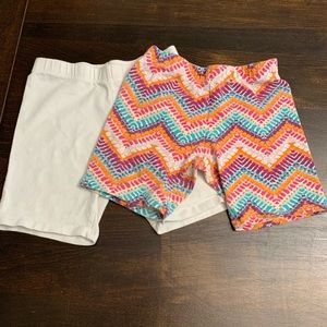 Faded Glory Girls Shorts (2 Pairs)